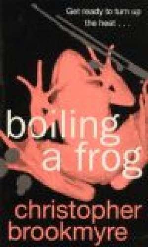 Boiling a frog - okładka książki