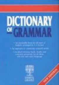 Dictionary of grammar - okładka książki