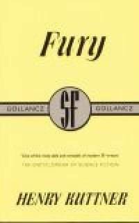 Fury - okładka książki