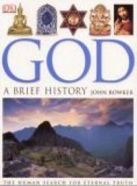 God a brief history - okładka książki