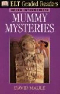 Mummy mysteries - okładka książki