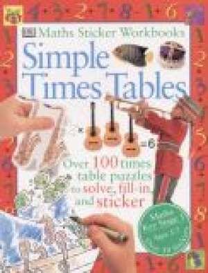 Simple Times Tables - okładka książki