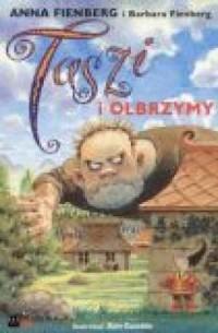 Taszi i olbrzymy - okładka książki