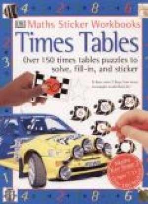 Times Tables - okładka książki