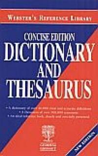 Concise edition. Dictionary and thesaurus - okładka książki