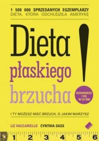 Dieta płaskiego brzucha! - Liz - okładka książki