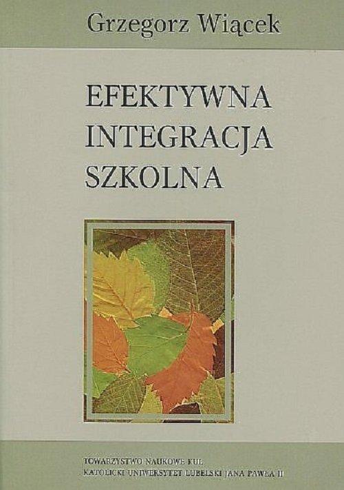 Efektywna integracja szkolna - okładka książki