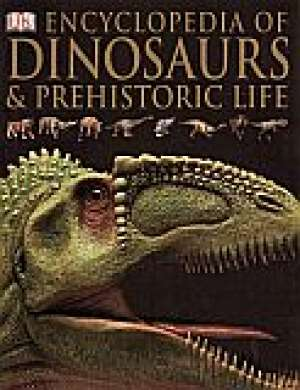 Encyclopedia of dinosaurs & prehistoric - okładka książki