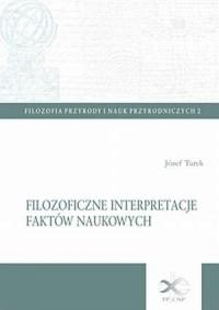 Filozoficzne interpretacje faktów - okładka książki