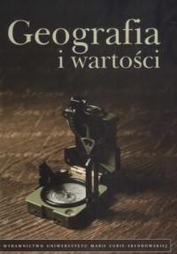 Geografia i wartości - okładka książki