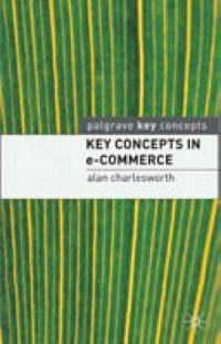 Key Concepts in e-Commerce - okładka książki