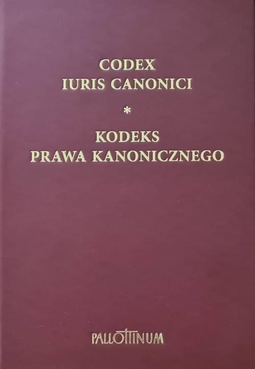 Kodeks Prawa Kanonicznego - okładka książki