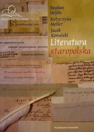 Literatura staropolska - okładka książki