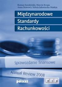 Międzynarodowe Standardy Rachunkowości - okładka książki