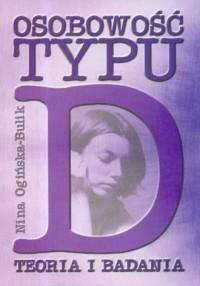 Osobowość typu D. Teoria i badania - okładka książki