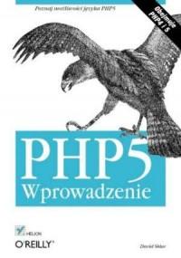 PHP5. Wprowadzenie - okładka książki