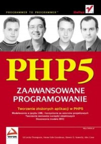 PHP5. Zaawansowane programowanie - okładka książki