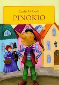 Pinokio - Carlo Collodi - okładka książki