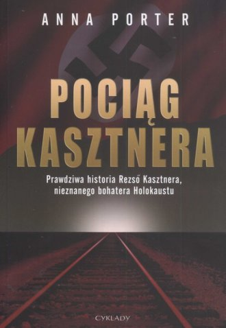 Pociąg Kasztnera - okładka książki