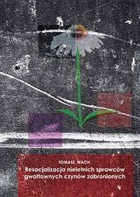 Resocjalizacja nieletnich sprawców - okładka książki