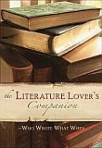 The literature lover s companion - okładka książki