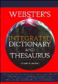 Webster s Integrated Dictionary and Thesaurus - okładka książki