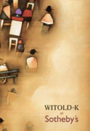 Witold-K at Sotheby s - okładka książki