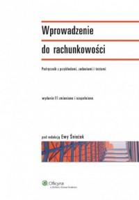 Wprowadzenie do rachunkowości. - okładka książki