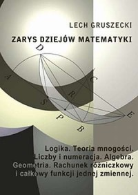 Zarys dziejów matematyki - Lech - okładka książki