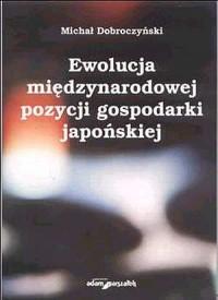 Ewolucja międzynarodowej pozycji - okładka książki