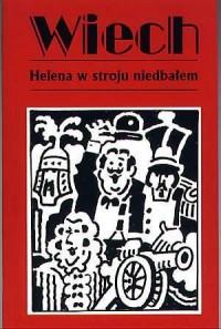 Helena w stroju niedbałem - okładka książki