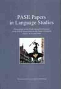 Pase Papers in Language Studies - okładka książki