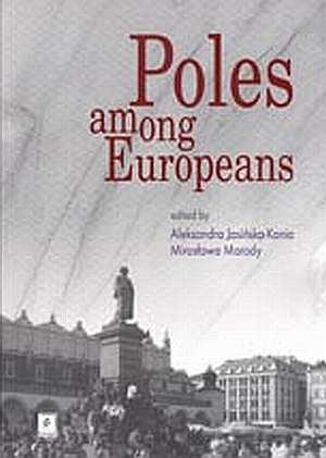 Poles among Europeanes - okładka książki