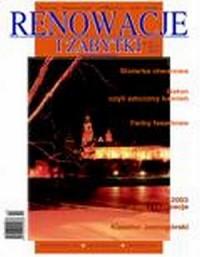 Renowacje i zabytki 02(06)/2003 - okładka książki