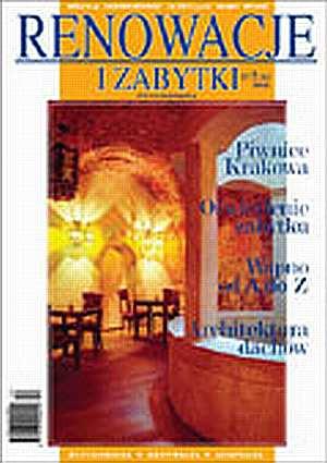 Renowacje i zabytki 02(10)/2004 - okładka książki