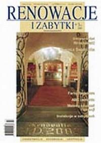 Renowacje i zabytki 03(07)/2003 - okładka książki