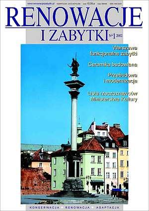 Renowacje i zabytki 1(01)/2002 - okładka książki