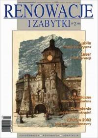 Renowacje i zabytki 2(02)/2002 - okładka książki
