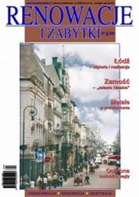 Renowacje i zabytki 4(04)/2002 - okładka książki