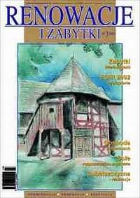 Renowacje i zabytki(03)/2002 - okładka książki