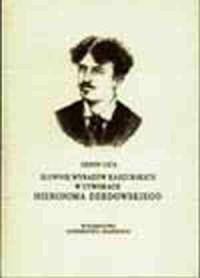 Słownik wyrazów kaszubskich w utworach - okładka książki