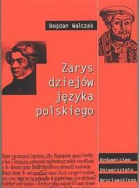 Zarys dziejów języka polskiego - okładka książki