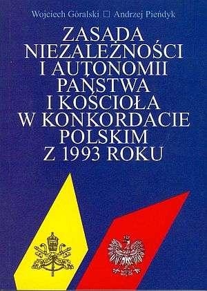 Zasada niezależności i autonomii - okładka książki