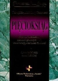 Hebrajsko-polski Stary Testament. Pięcioksiąg - okładka książki