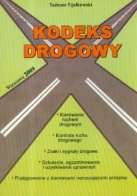 Kodeks drogowy 2009 - okładka książki