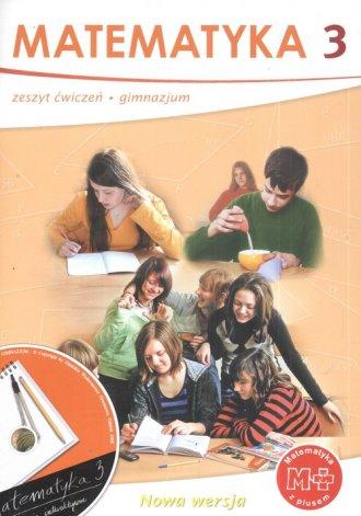 Matematyka z plusem. Klasa 3. Ćwiczenia - okładka podręcznika