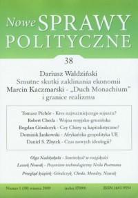Nowe sprawy polityczne - okładka książki