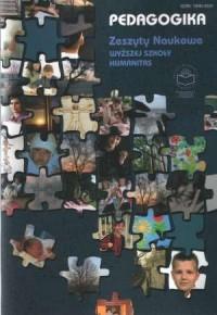 Pedagogika 3/2008. Zeszyty naukowe Wyższej Szkoły Humanitas - okładka książki