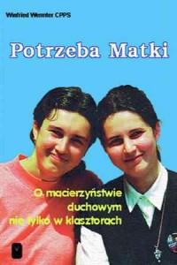 Potrzeba Matki - okładka książki
