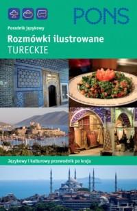 Rozmówki ilustrowane tureckie - okładka książki